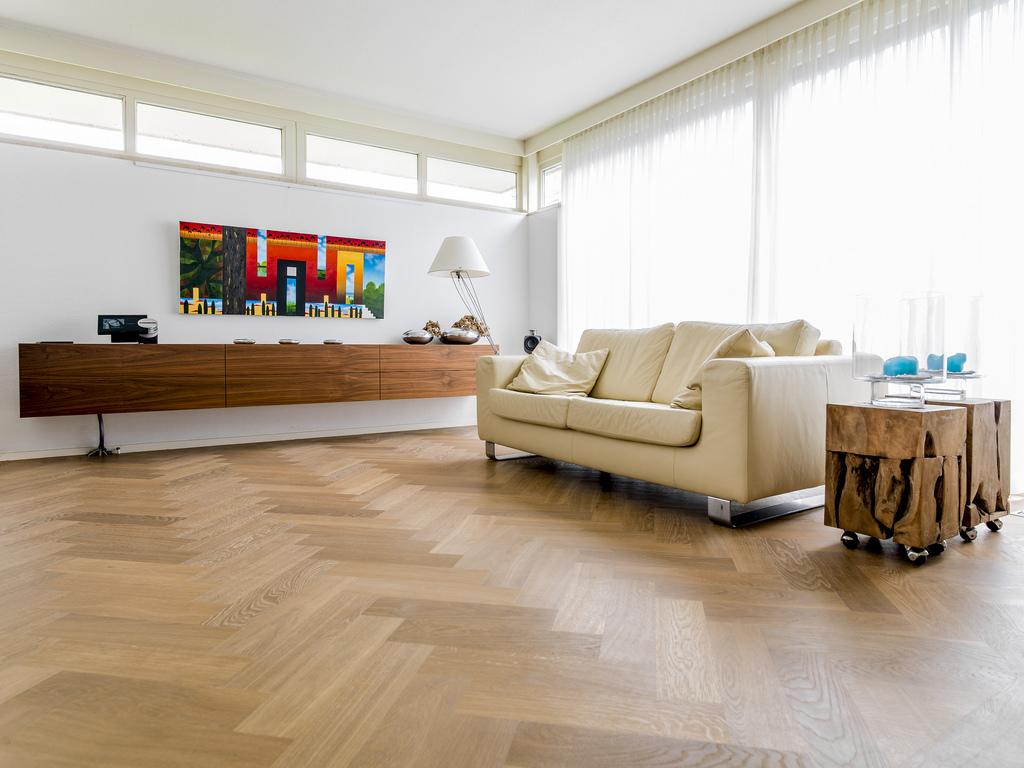 Eiken Houten Vloeren : Gerookte eiken houten vloer