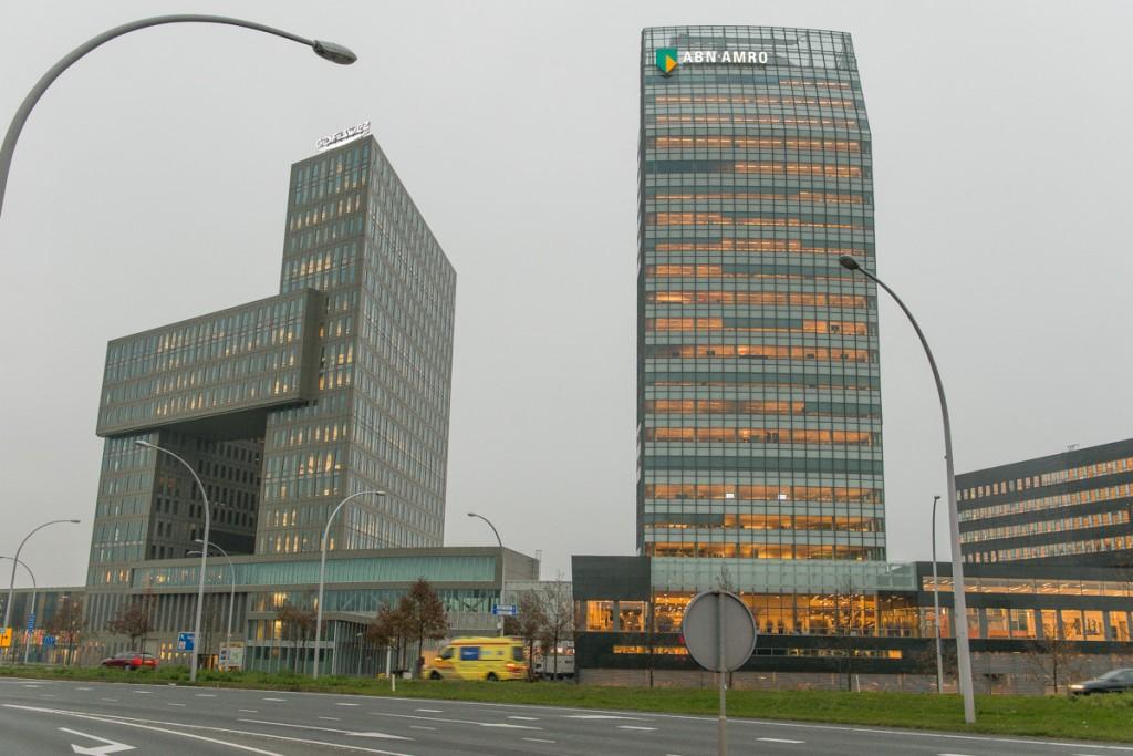 Noten vloer ABN AMRO Zwolle
