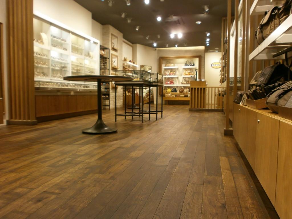 FOSSIL Eiken houten vloeren onderhoud