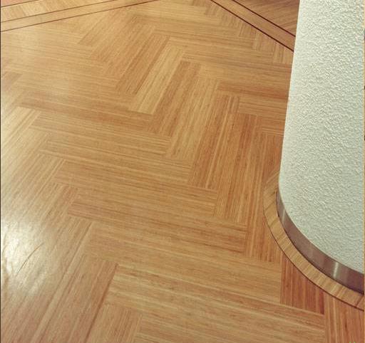 Renovatie Badkamer Zwolle ~ Deze naturel geoliede Bamboe parketvloer heeft een frisse en lichte