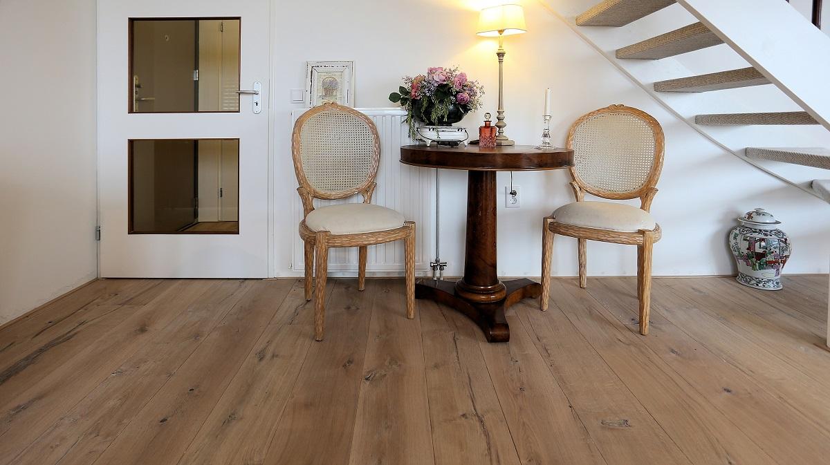 Raftwood houten vloeren uit spoorbielzen baltussen parket