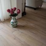 Rafwood Parketvloer, houten vloer uit spoorbielzen