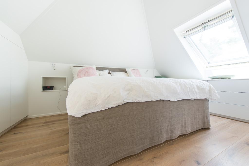 De Geschuurde Eiken Duoplank Orange Label vloer in deze woning zijn ...