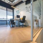 Parket vloer kantoor amsterdam1