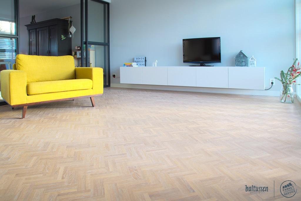 hoe lang gaat een houten vloer?